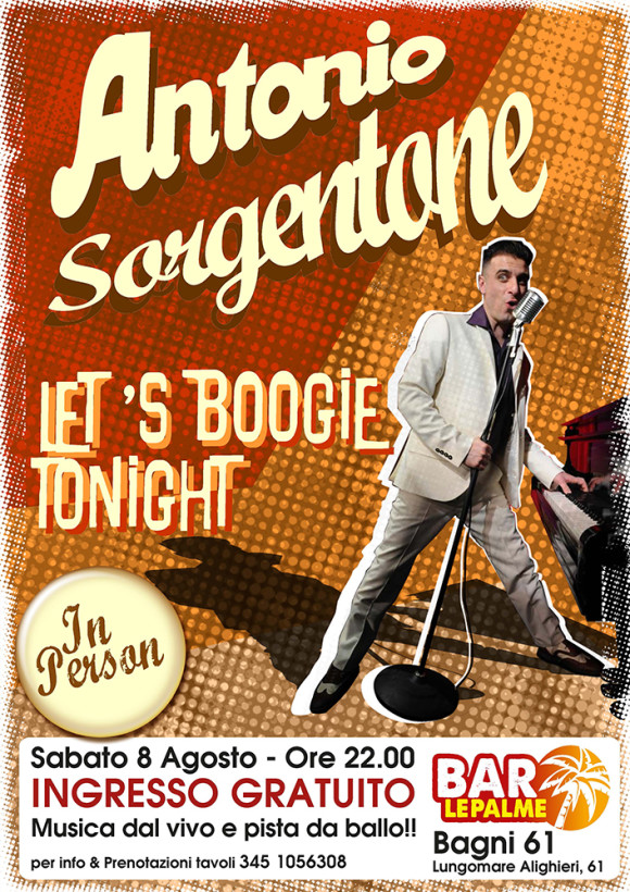 8 Agosto 2015 – Let's boogie tonight