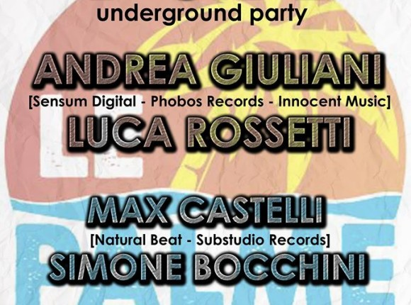 22 Agosto 2015 – B-SIDE Underground party